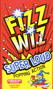 Fizz Wiz Popping Candy Strawberry Flavour