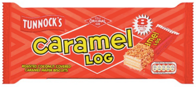 Tunnock's Caramel Log's 8 pack