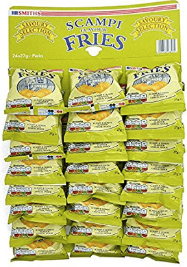 Scampi Fries 24 packet Sleeve