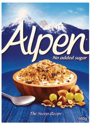 Alpen No Added Sugar