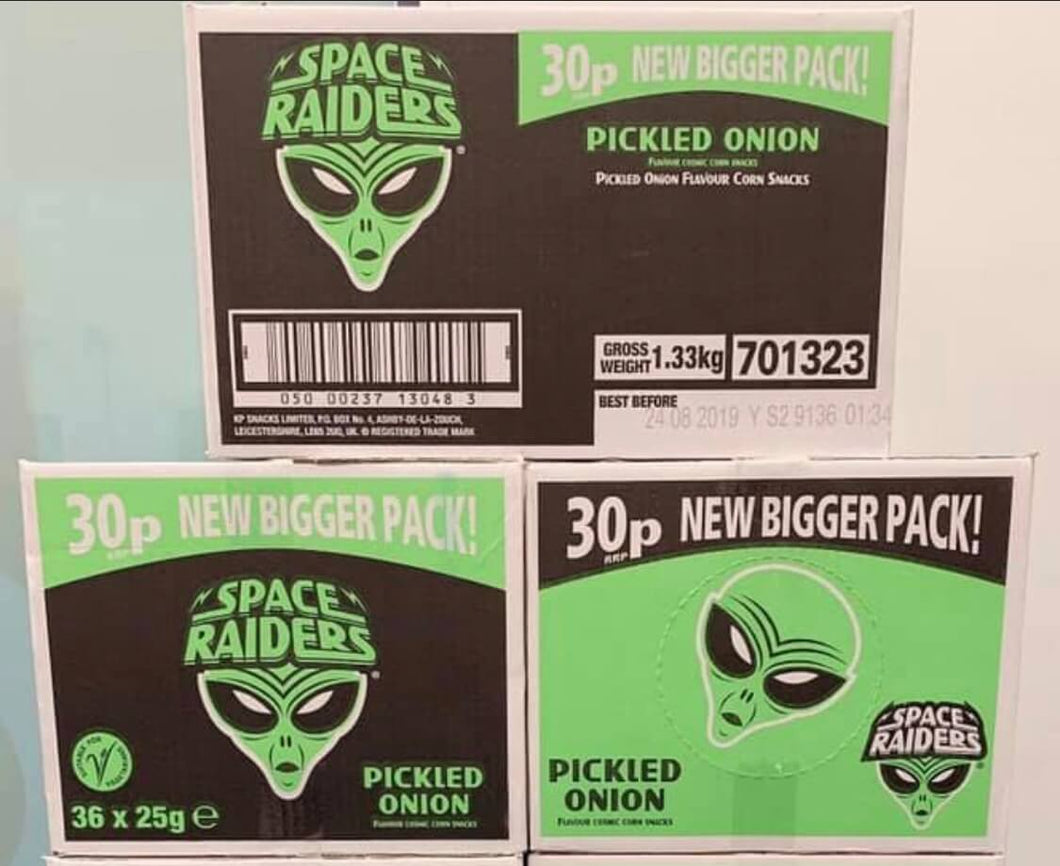 Space Raiders Pickled Onion Box 36