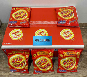 Hula Hoops BBQ Original 32 Pack Box