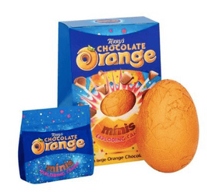 Terrys Chocolate Orange Popping Candy Large Egg
