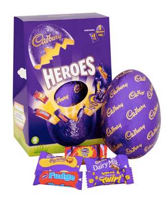 Cadbury's Heros Egg Large