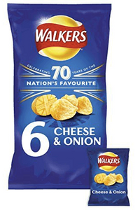 Walkers Crisps Cheese and Onion multibag
