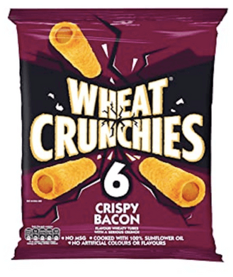Wheat Crunchies Crispy Bacon Multi bags 6 pack