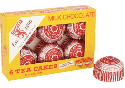 Tunnocks Teacakes 6 pack