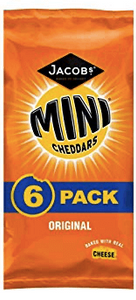 Mini Cheddar Crisps Multipack