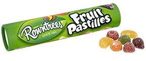 Fruit Pastilles Christmas Stocking tube