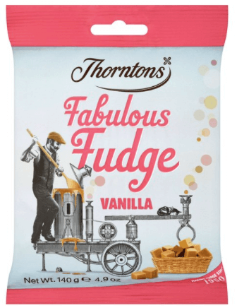 Thorntons Vanilla Fudge Bags