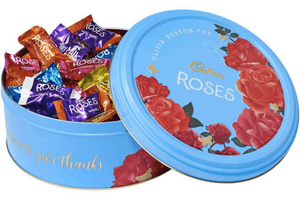Cadbury's Roses Christmas Tin 2019