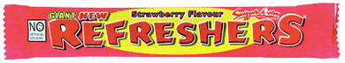 Refresher Strawberry Bar