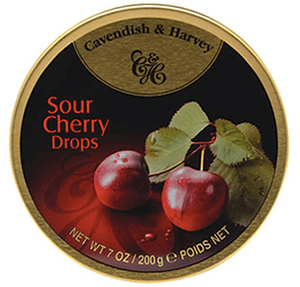 Cavendish and Harvey Sour Cherry Drops Tin