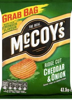 The Real McCoy's Cheddar and Onion