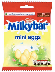 Milky Bar Mini Eggs