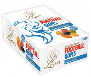 Lions Football Gums 2kg box