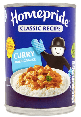 Homepride Curry Sauce