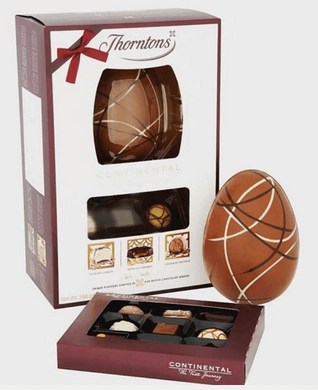 Thorntons Continental Dark Chocolate Luxury Large Easter Egg