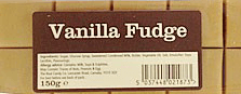 Vanilla Flavour Fudge Bar