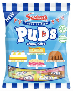Swizzels Great British Puds Chew Bars NEW