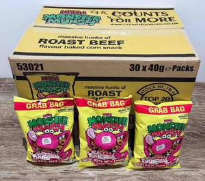 Monster Munch Roast Beef 30 Pack Box