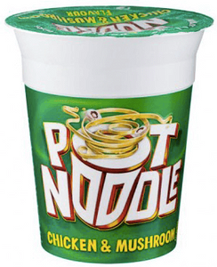 Pot Noodle Chicken and Mushroom Flavour