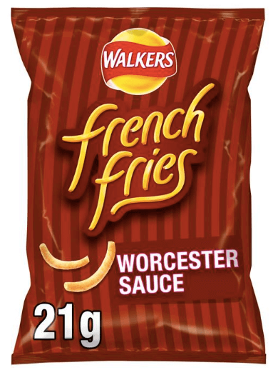 Walkers French Fries Worcester Sauce