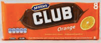 Club Orange Biscuits