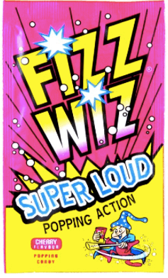 Fizz Wiz Popping Candy Cherry Flavour