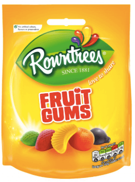 Rowntrees Fruit Gums Bags