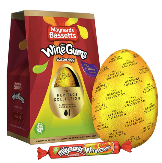 Wine Gum Medium Easter Egg