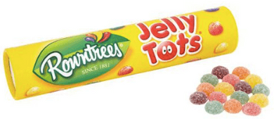 Jelly Tots Christmas Stocking Tube