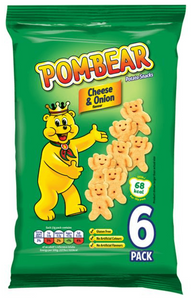 Pom Bears Cheese and Onion Multi bag crisps