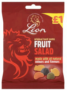 Lion Fruit Salad bags