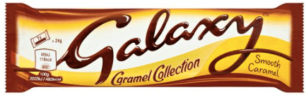 Galaxy Chocolate Caramel Small Bar