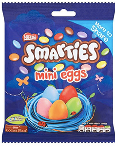 Nestle Smarties Mini Eggs Bag