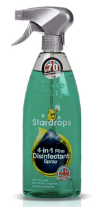 Stardrops 4-in-1 Pine Disinfectant Spray 750ml