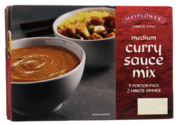 Mayflower Medium Curry Sauce Mix