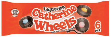 Liquorice Catherine Wheels