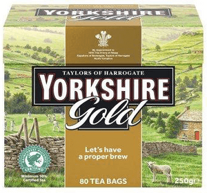 Yorkshire Gold Tea bags 80