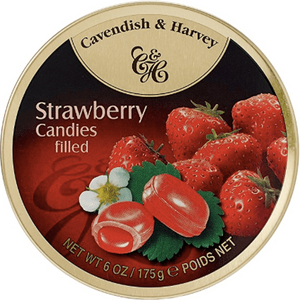 Cavendish and Harvey Strawberry Drops Tin