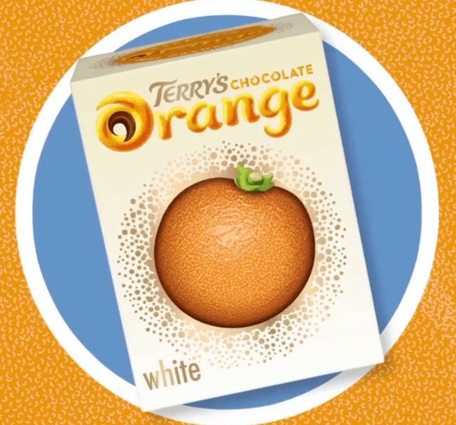 Terrys White Chocolate Oranges