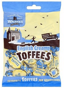 Walkers English Creamy Toffee Bags