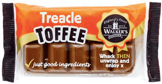 Walkers Treacle Toffee Bar