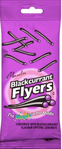 Maxilin Liquorice and Blackcurrant Flyers