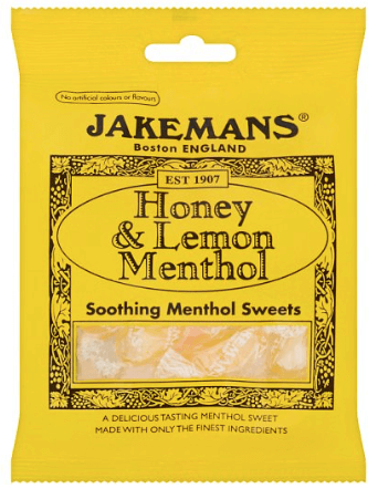 Jakemans Honey and Lemon Menthol