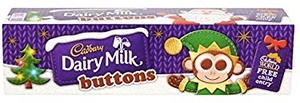 Cadbury's Button's Christmas Stocking Tube