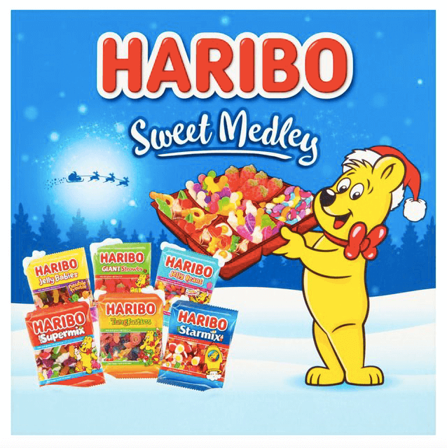 Haribo Christmas Sweet Medley Selection Box