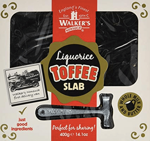 Walkers Liquorice Toffee Christmas Pack with Toffee Hammer