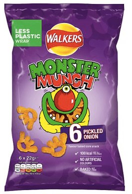 Monster Munch Pickled Onion multibag